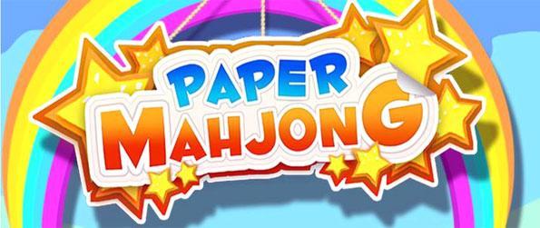 Paper Mahjong - Enjoy Fast Paced 3D mahjong action!