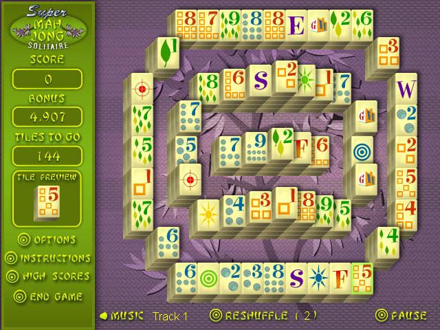 Super Mahjong Solitaire - Mahjong Games Free