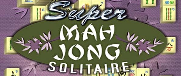 Super Mahjong Solitaire - Try a fantastic mahjong game and choose your layout and tiles.
