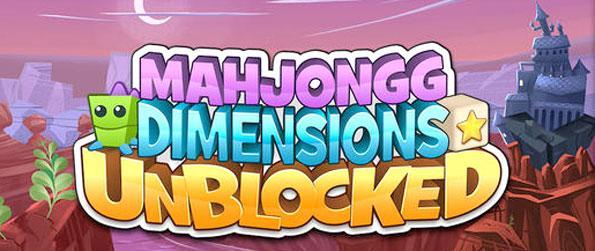 Mahjongg Dimensions Unblocked - Enjoy a fnatatic 3D mahjong experience.
