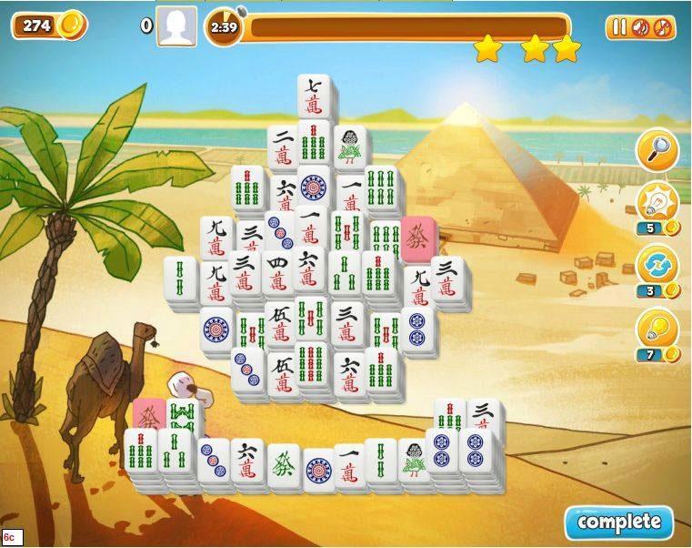 Mahjong Pyramide