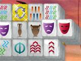 Mahjong Mysteries: Ancient Athena Cross Pattern