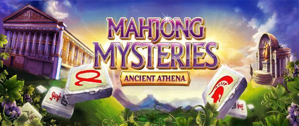 Mahjong Mysteries: Ancient Athena - Enjoy this very addicting mahjong experience with a theme based on ancient Greek mythology.