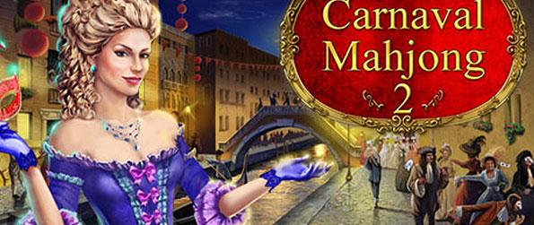 Mahjong Carnaval 2 - Explore the different masquerade destinations across the world while scouring through the collection of Mahjong Puzzles to beat.