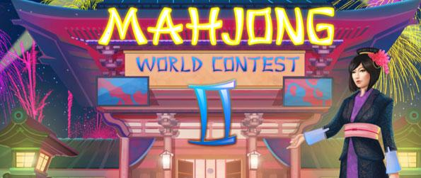 Mahjong World Contest 2 - Play for the world title of Mahjong Grand Master as you clear the game's 120 puzzle layouts.