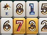 Mahjong Business Style Target Gold Tiles
