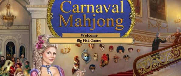 Mahjong Carnaval - Witness the glamorous masquerade festivals as you scour through the collection of Mahjong Puzzles to beat in this wonderful game.