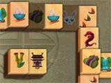 2D Mahjong Temple Gameplay