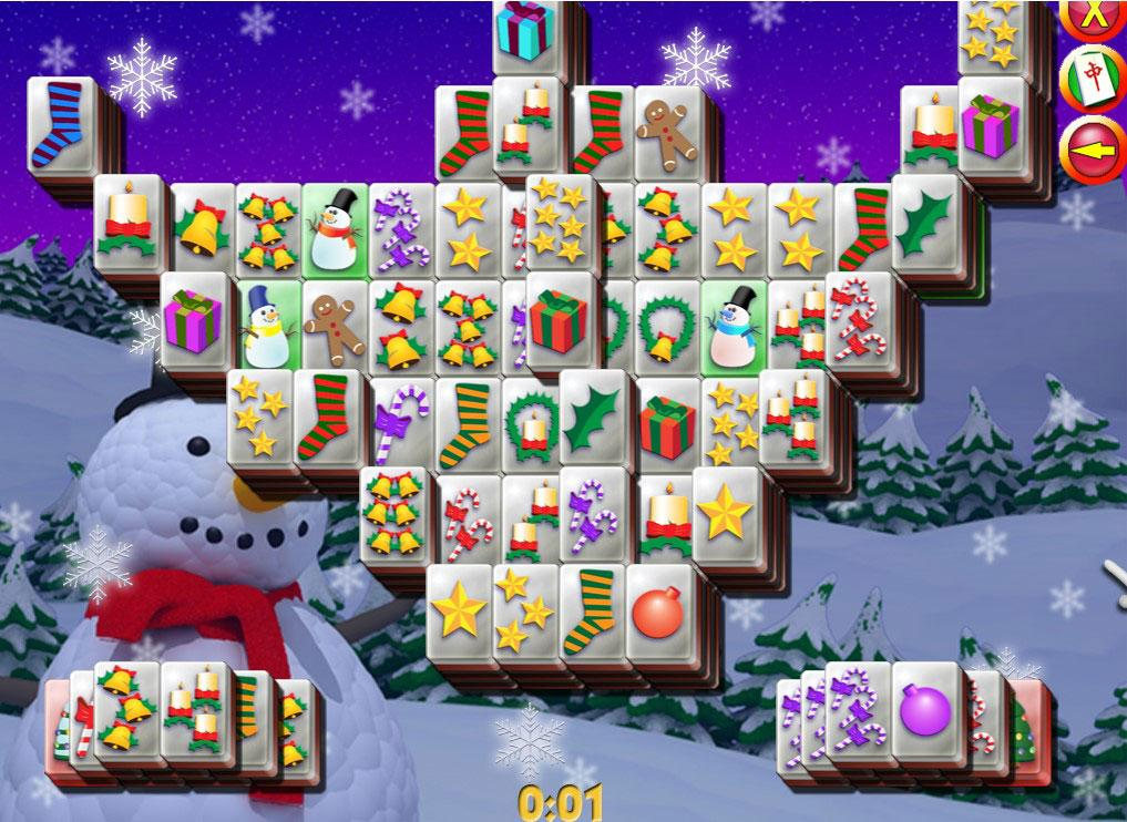 Mahjong Christmas.Mahjong Christmas Mahjong Games Free