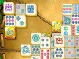 Golden tiles for Mahjongg: Ancient Mayas