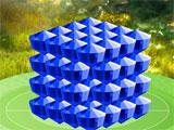 Mahjongg Dimensions Deluxe Blue Crystal Bonus