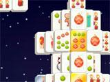 Gameplay of Mahjong Christmas 2