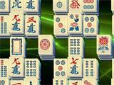Mahjong + cool background