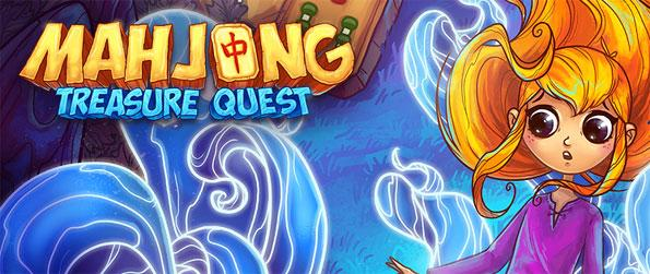 Mahjong Treasure Quest - Put your best Mahjong strategy to work!