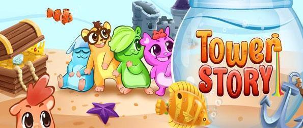 Tower Story - Jogar este jogo livre muito popular Facebook e veja se você pode salvar as criaturas bonitos.