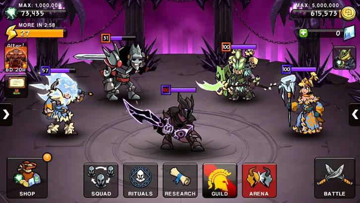 HonorBound gameplay