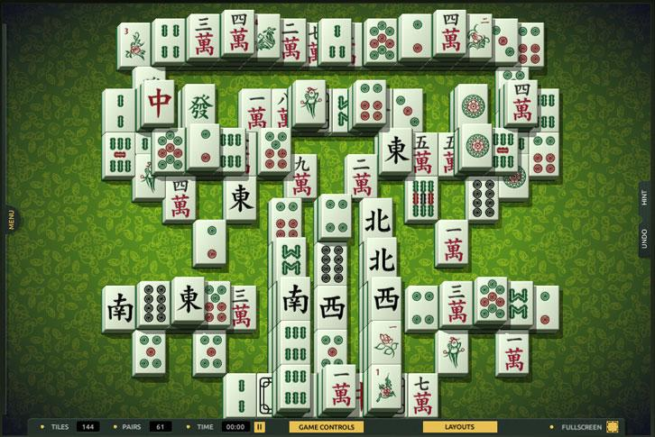 Tree of Life layout in TheMahjong.com