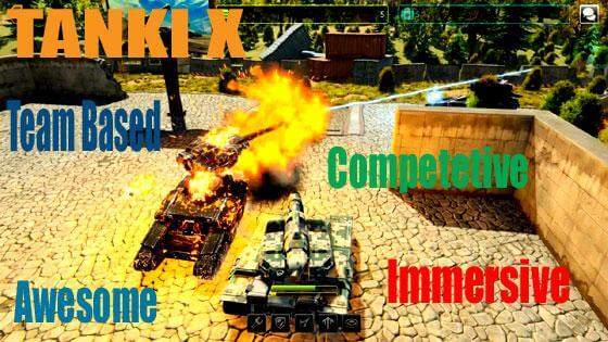Competitive Tanki X