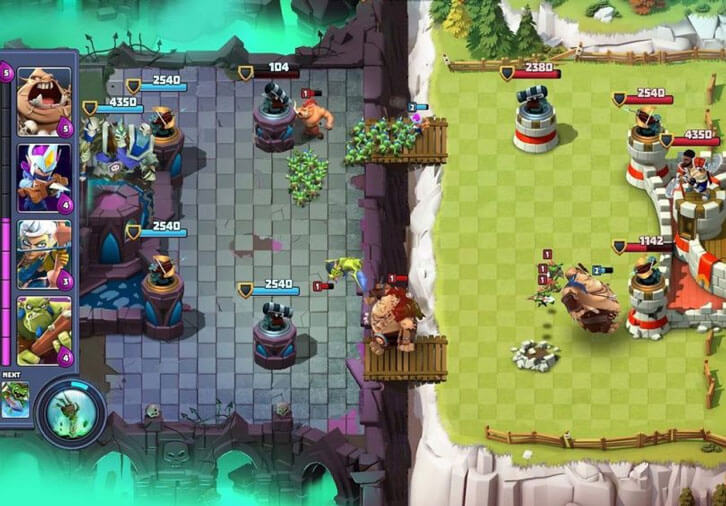 Clash Royale vs Castle Creeps Battle: Which is Better?