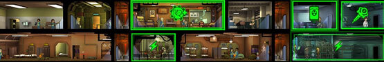 Hustle Castle vs Fallout Shelter