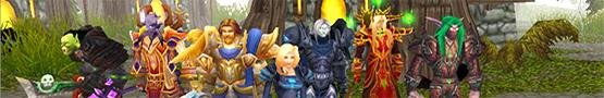 Common Classes in MMORPGs