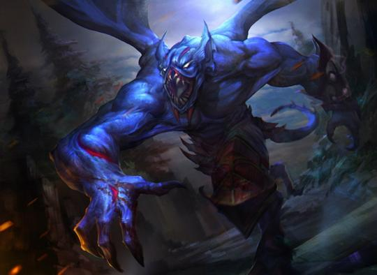 Night stalker in DotA 2