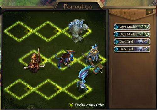 Tactical Formation in Sentinel Heroes