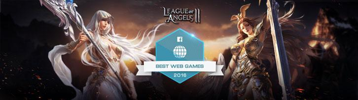 League of Angels 2 Honored as Facebook's 2016 Best Web Game