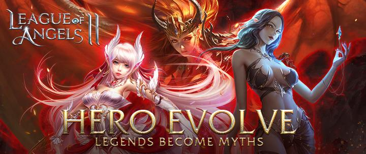 Hero Evolve Arrives in League of Angels 2