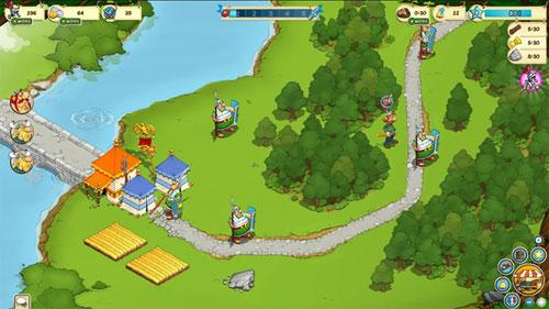 Try Asterix and Friends