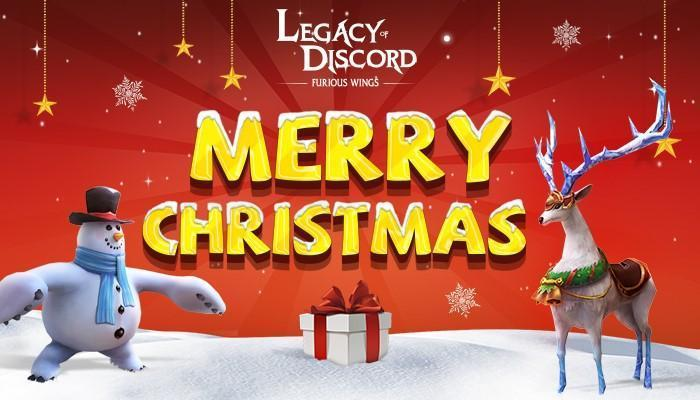 Legacy of Discord Update Features Christmas Events And Class Promotion System
