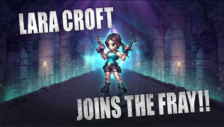Lara Croft Arrives on Final Fantasy Brave Exvius