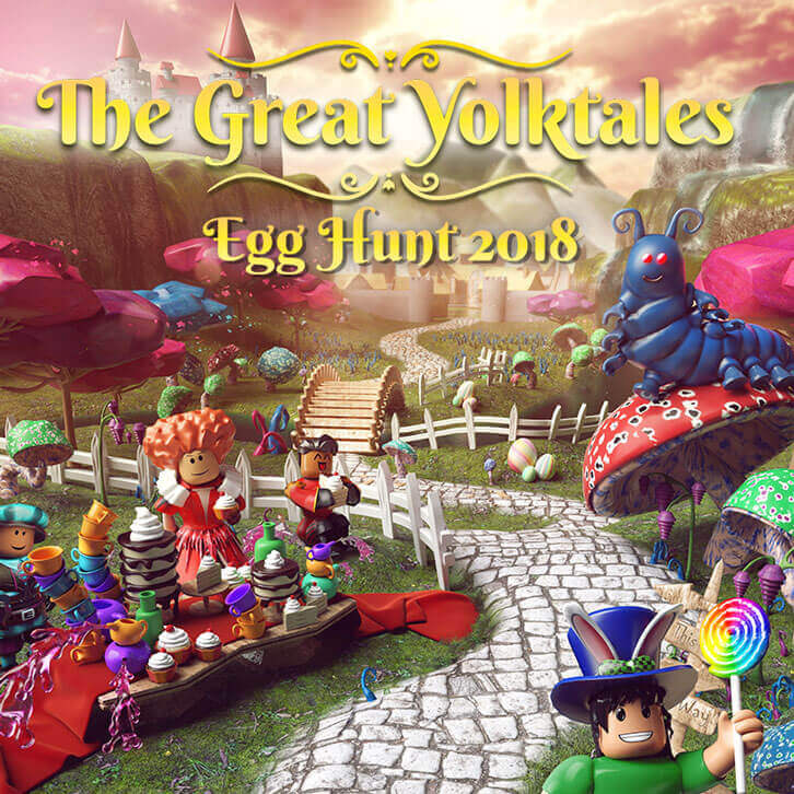 Roblox's Egg Hunt 2018: The Great Yolktales is Finally Here!