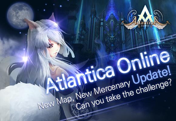 Atlantica Online's First Quarter Update Brings New Map, Mercenary and Gear Set