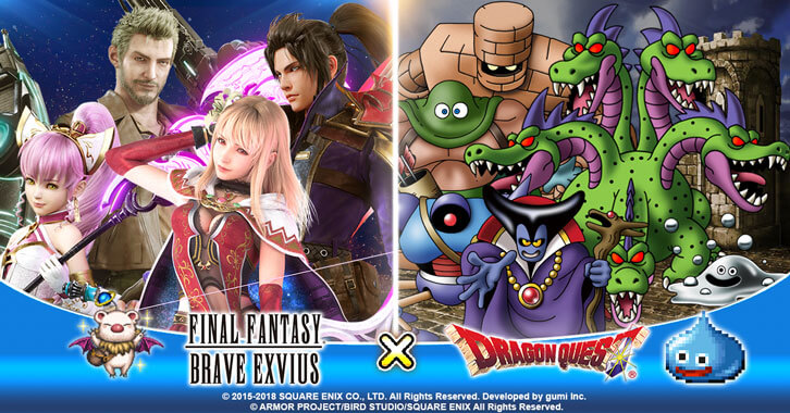 Final Fantasy Brave Exvius Celebrates Upcoming Dragon Quest XI Worldwide Release With Collaboration Event