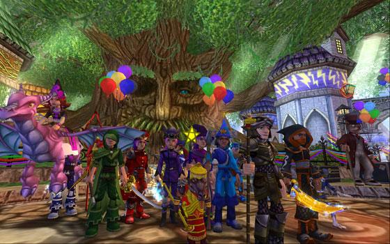 Enter the world of Wizard 101