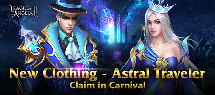 New Clothing Astral Traveler Arrives in League of Angels II