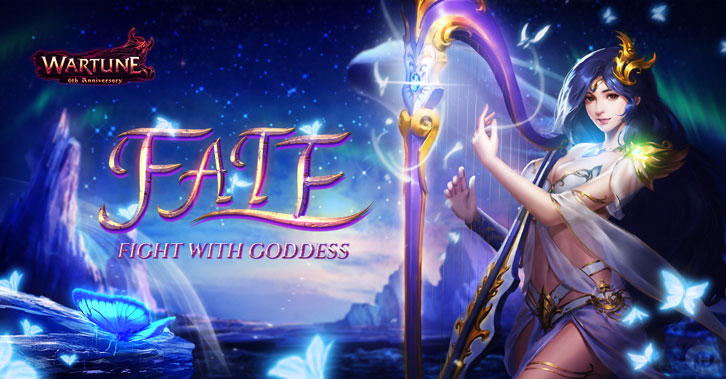 Wartune 8.1 Brings 5 Goddesses to Join the Battle