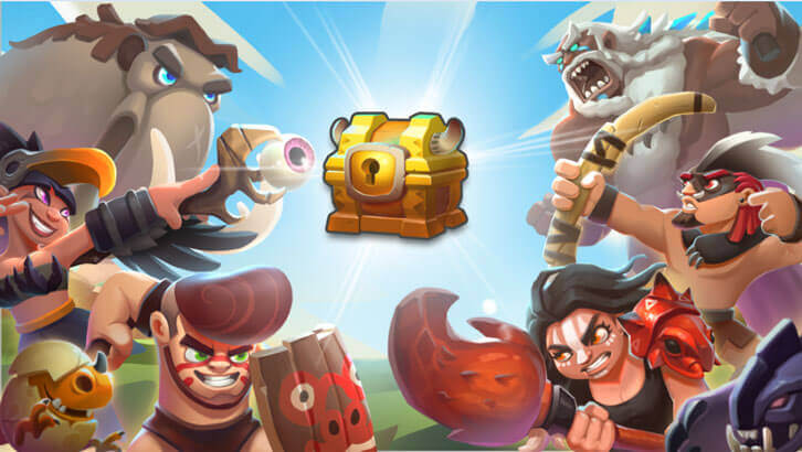 Time to Fight, Champions! 3v3 RTS Mobile Game, Stone Arena, Has Launched Globally