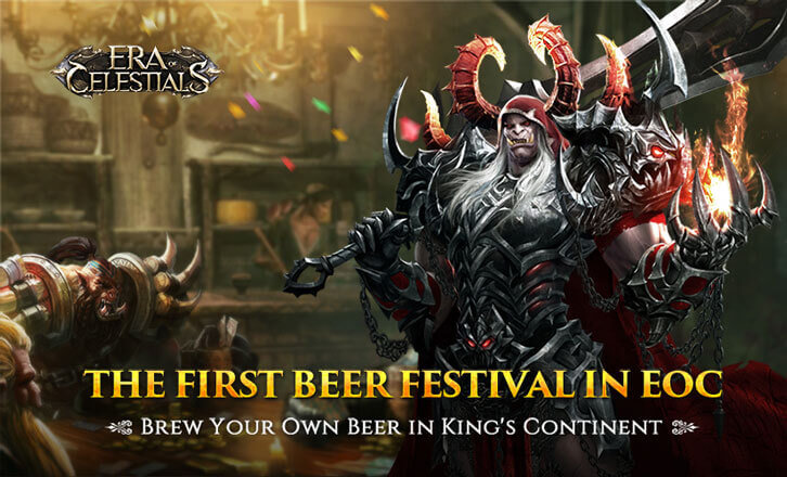 Era of Celestials Prepares to Launch the Beer Festival and More