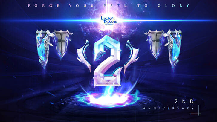 Legacy of Discord Celebrates its 2nd Anniversary in Style