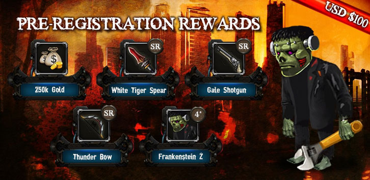 Zombie War Z Pre-Registeration Giveaway