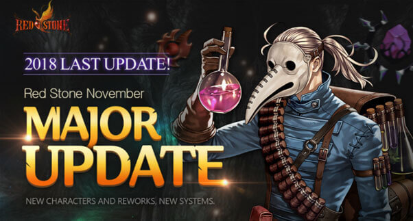 MMORPG Red Stone Online Releases Major Update