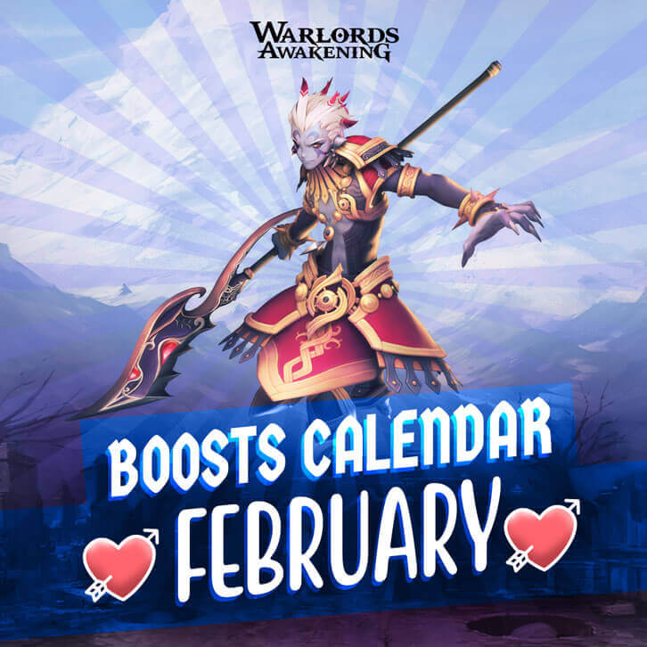 Warlords Awakening Launches the Best Valentine Event