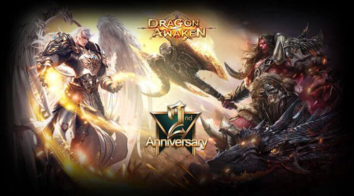 Dragon Awaken's Second Anniversary