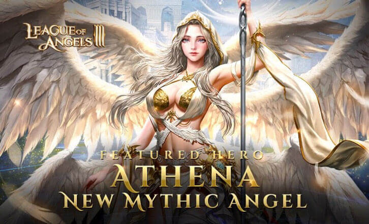 Poster-Child Athena Arrives On League Of Angels III — Just In Time For Paddy's Day Celebrations