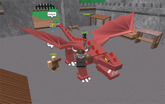 Fight Dragons in Roblox