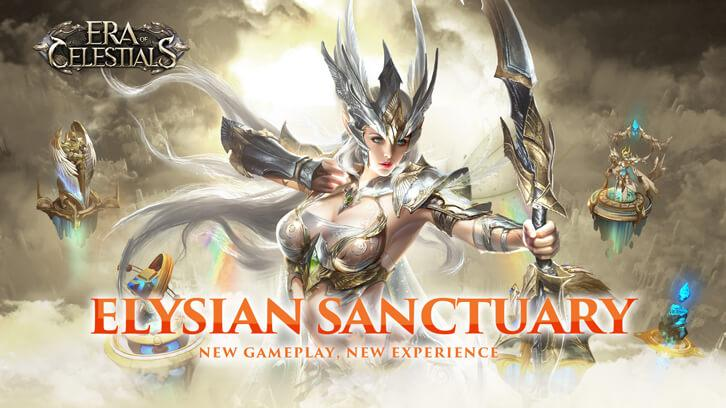 Big Gameplay Update 'Elysian Sanctuary' Arrives in Era of Celestials