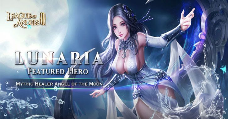 Total Eclipse of The Heart As First Mythic Healer Lunaria Arrives in League of Angels 3