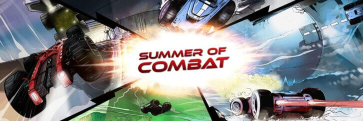 'Summer of Combat' on Route to Indie Hit GRIP: Combat Racing